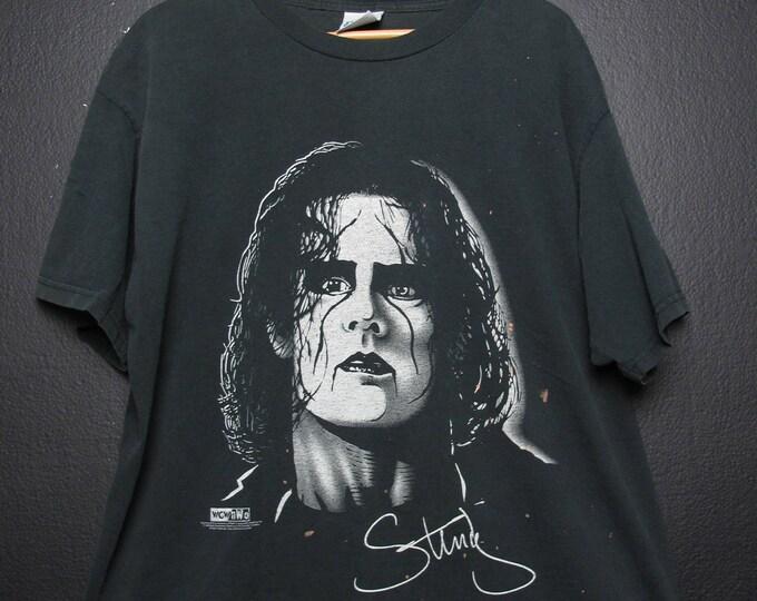 Sting WWE WWF WCW wrestling Vintage Tshirt
