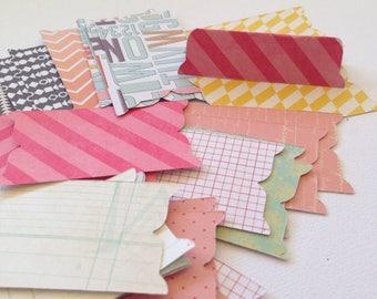 Sandrifter File Tabs - Set of 30, Art Journaling, Bible Journaling, Planners, Snail Mail