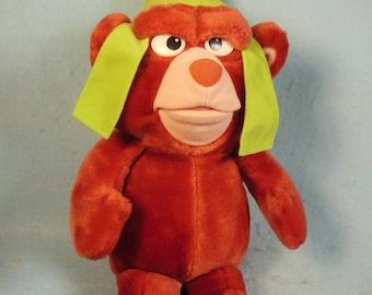 Vintage-1985-Fisher Price-Gruffi Gummi Bear--Walt Disney Productions-Number7005