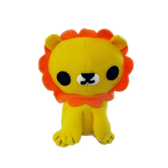 Lion Plush Animal Pattern, PlushSewing Pattern, PDF Lion, Lion ...