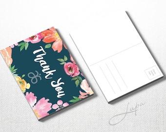 Thank You Arbonne A6 postcard (01) – Instant Download – DIGITAL FILE