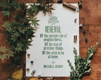 Wendell Berry - Renewal