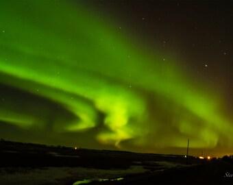 "Northern Lights Postcard 4""x6""  Alberta, Canada."