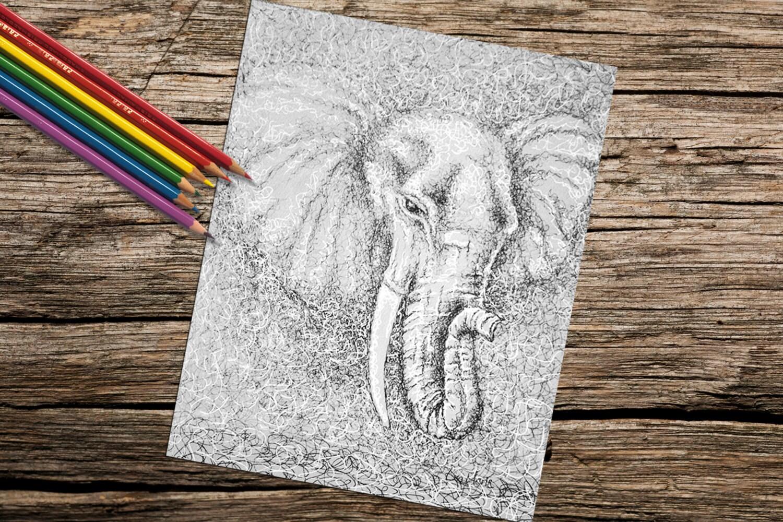 Colorear libro para adultos descargar adultos página para