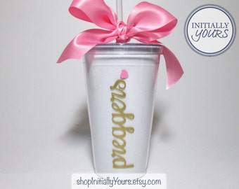 Preggers Acrylic Glitter Tumbler, Soon to Be Mom, Pregnancy Gift, Bridal Shower Gift, Pregnancy Cup, Maternity Gift, Mom to Be Gift