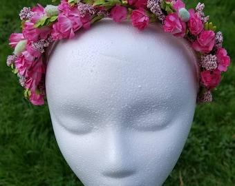 Pretty in Pink Headpiece