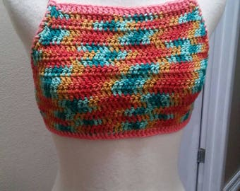 Crochet crop top READY TO SHIP