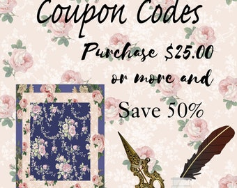 Coupon Code: Purchase 25.00 or More and Get 50% off in The Shop. Does Not Include Commercial License.