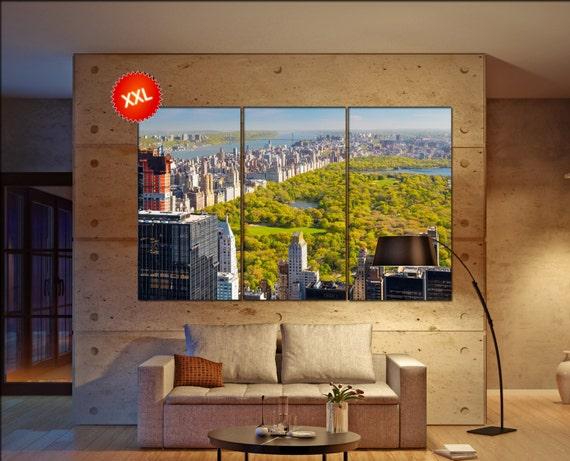 central park, New york  canvas skyline central park wall decoration central park canvas art central park  wall decor canvas