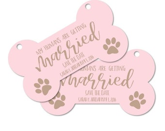 Printable Personalized Engagement Photo Prop Dog sign, My humans are getting married Wedding sign Reception Sign 4x7 or 5.5x10 DIGITAL FILES