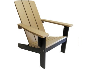 Modern Adirondack Chair Two Tone