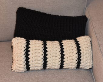 Eco Friendly Striped Accent Pillow
