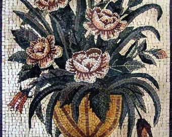 The Chocolate Flower Mosaic