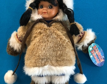 Alaskan Friends Eskimo Doll by Arctic Circle