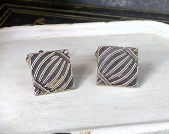 Vintage 1960's Swank Cuff Links