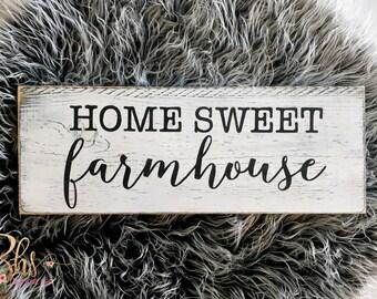 Wood sign - wooden sign - farmhouse - Home decor - farmhouse decor - rustic decor - farmhouse sign - white wash - farmhouse style