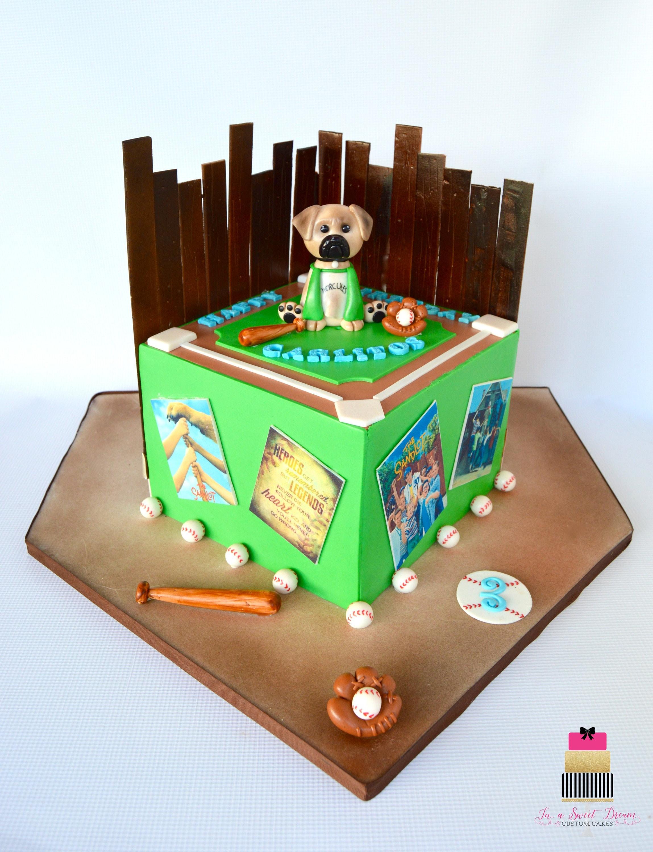 Sandlot Theme Cake Sandlot theme cake decorations baseball
