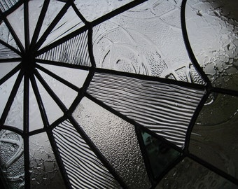 Stained Glass Spider Web - Turqouise