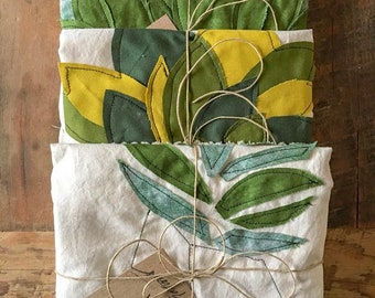 Custom Botanical Pillow Case