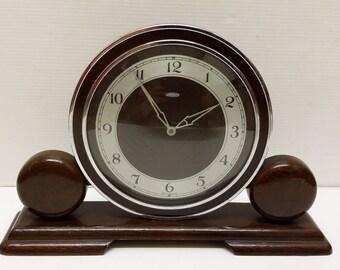 Metamec Dereham Mantle Clock Hand Wound