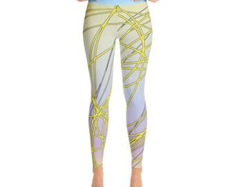 SGRIB Print Women's Fashion Yoga Leggings - xs-xl sizes - design number twenty-four