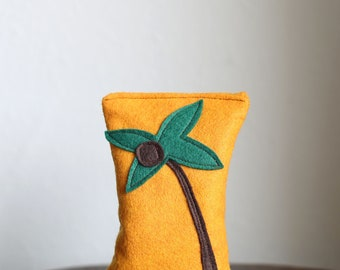 Summer Lavender Sachet with Palm Tree for Home, Work & Car | Road Trip Sachet | Gifts under 30