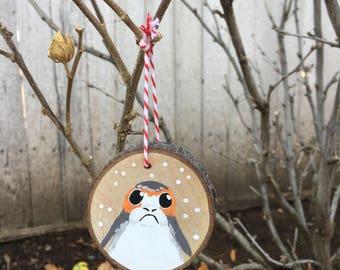 Porg ornaments, Star Wars ornaments, The Last Jedi, Star Wars, Christmas ornament