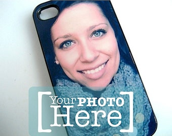 Personalized iPhone Case - Photo iPhone 4 and 4s Case - Your Favorite Photo -  Custom iPhone Case - iphone 5 - iphone 6 - Samsung S4 and S5
