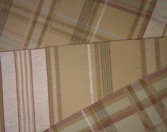 7 COUPONS FROM 3 DIFFERENT COLOR FABRICS