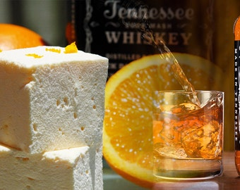 Whiskey Orange  - All Natural, Handcrafted Gourmet Marshmallows