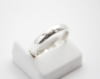 Continuum sterling silver band / wedding band sterling silver / continuum silver / band / wedding band /bands / silver band /silver wedding