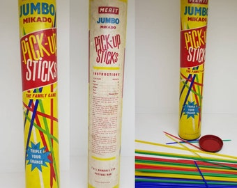 Merit Jumbo Mikado pick up sticks by J&L Randall Ltd Potters Bar circa 1960s