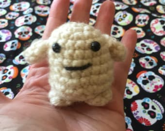 Mini Adipose Plush or keychain Inspired by Doctor Who