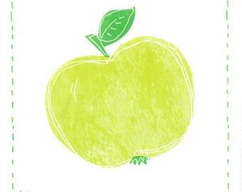 2 Green Apple (340) paper napkins