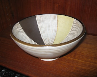 Ceramic bowl from the 50s. Marked With 201/17