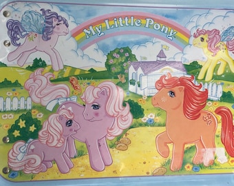 My Little Pony Lap Tray 1986, Rare mlp collectable tray