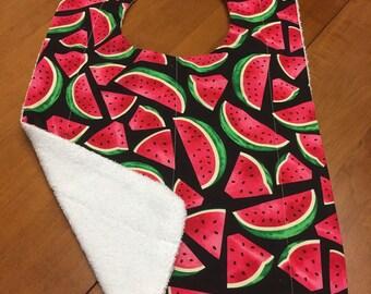 Watermelon Adult Bib