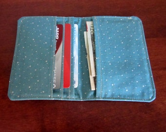 Card Wallet, Card Holder, Credit Card Holder, Slim Wallet, Pocket Purse, Business Card Case, Women Wallet, Thin Wallet, Fabric Wallet