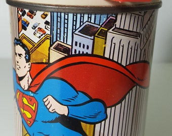 1967 SuperMan thermos, King-Seely thermos, Thermos brand, National Periodical Publications Inc., Wayne Boring art, Thermos company, lunchbox