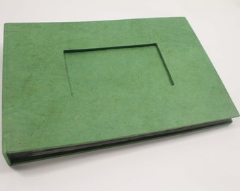 Handmade photo album 30 pages eco friendly lokta paper w/ color variations