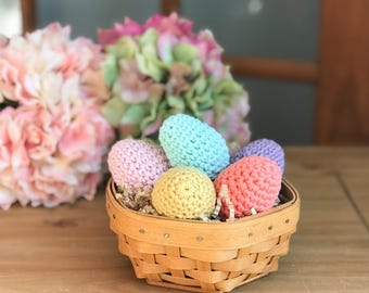 Crochet Easter Eggs - Bowl Fillers Spring - Easter Decorations