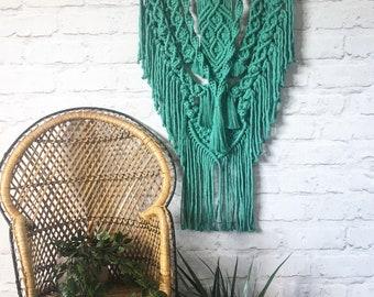 MERI ~ macrame wall hanging~ macrame ~ 70's decor ~ boho home