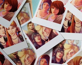 Polaroid Selfie Print