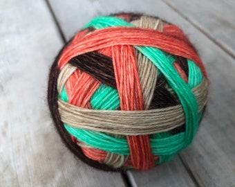 READY TO SHIP - I Am Moana - Self Striping Sock Yarn