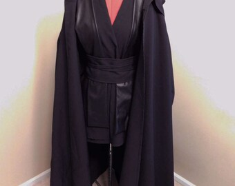 Star Wars Sith Costume Robe, Tunic, Obi and Tabbard Cosplay