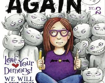 BEGIN AGAIN #2 - The ISSUES Issue (Comic Magazine) pdf
