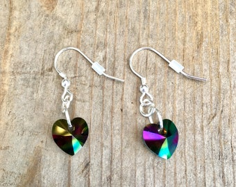 Swarovski Crystal Iridescent Earrings