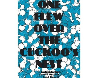 One Flew Over the Cuckoo's Nest movie poster in various sizes
