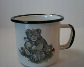 Child's Enamel Cup
