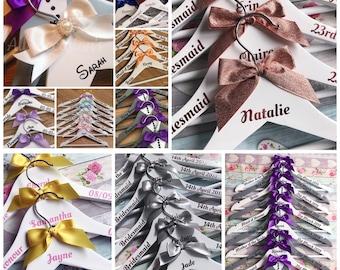 Personalised Wedding Hangers